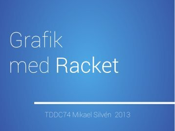 Grafik i Racket