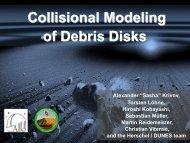 Collisional Modeling of Circumstellar Debris Disks