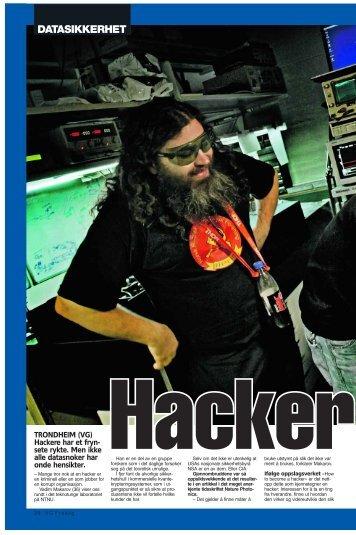 Hacker på statens regning - NTNU