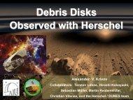 Debris disks observed with Herschel