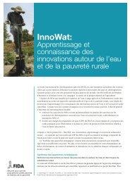 InnoWat: - IFAD