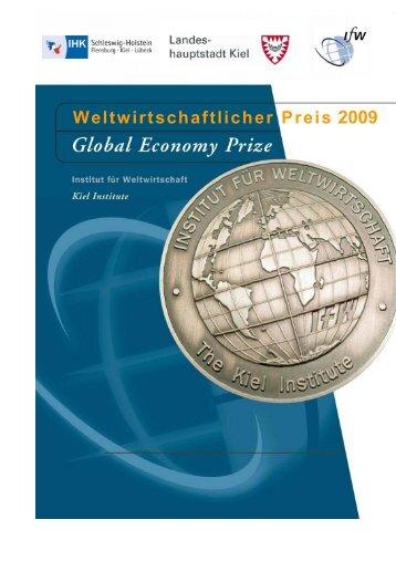 Weltwirtschaftlicher Preis 2009 - Institut für Weltwirtschaft