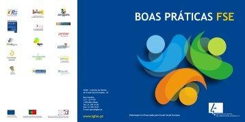 BOAS PRÁTICAS FSE - Instituto de Gestão do Fundo Social Europeu
