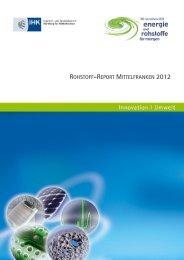 Rohstoffreport_Mittelfranken_2012 - IHK Nürnberg für Mittelfranken