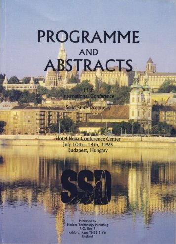 PROGRAMME - Institute of Isotopes