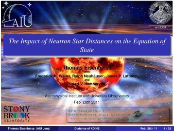 The Impact of Neutron Star Distances on the Equation of State