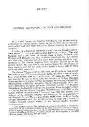 Dandin's «Kavyadarsa» in Tibet and Mongolia