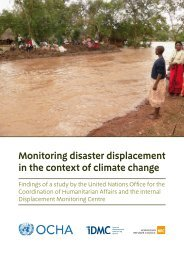 Monitoring disaster displacement in the context of climate change