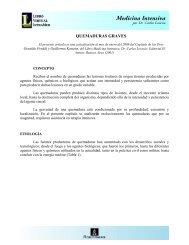 QUEMADURAS GRAVES - IntraMed