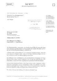 26. August 2009 - Hessisches Umweltministerium (RA de Witt) - ippnw