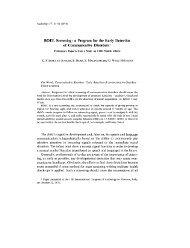 BOEL Screening - International Society of Audiology