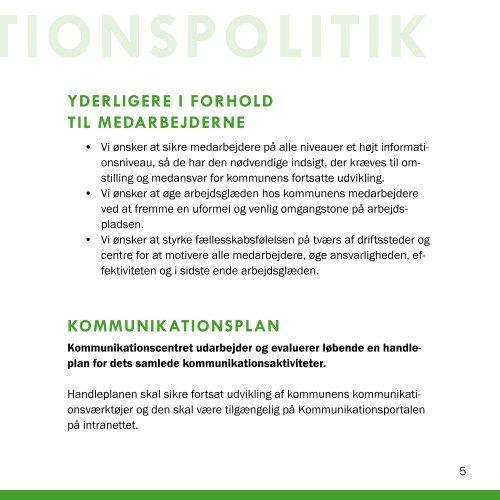 Kommunikationspolitik - Ishøj Kommune