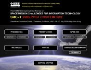 Third IEEE International Conference on Space Mission Challenges ...