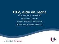 Hiv, aids en recht - Itg