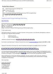 Pauline Dich-Johansen Side 1 af 2 Advisering om høring af FESD ...