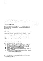 Notat kendskabsanalyse IP-telefoni - IT- og Telestyrelsen