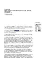 Miljøministeriet Enheden for digital forvaltning, Center for ...