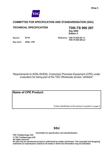 ATM-BSA Bilag 5 v standard 18 03 2009