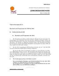 LENKUNGSAUSSCHUSS - International Trade Union Confederation