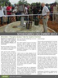 NYHEDSBREV DECEMBER 2012 - Ingeniører uden Grænser
