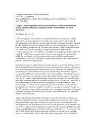 Europees Hof voor de Rechten van de Mens 5 juli 2011, nr ... - IViR
