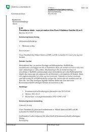 05 01 Beslut kommunstyrelsen 2013-03-04 p 34 Framtidens skola