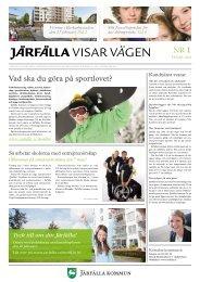 Läs Järfälla Visar Vägen - Nummer 1 här