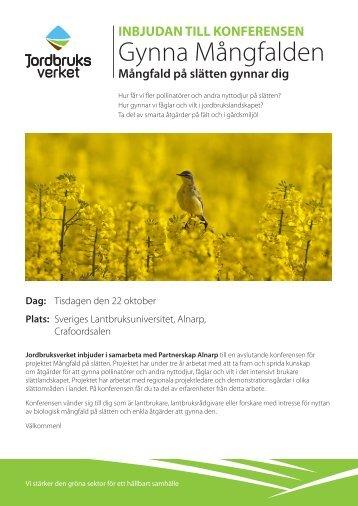 Gynna Mångfalden - Jordbruksverket