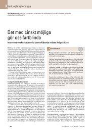 Det medicinskt möjliga gör oss fartblinda - Jordemoderforeningen