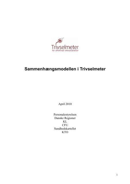 Sammenhængsmodellen i Trivselmeter