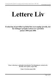 Lettere Liv - Jordemoderforeningen