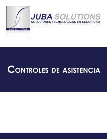 CONTROLES DE ASISTENCIA - Juba Solutions
