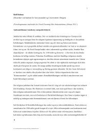 Hobson, Rolf (2011): Antisemittismen i moderne europeisk historie ...