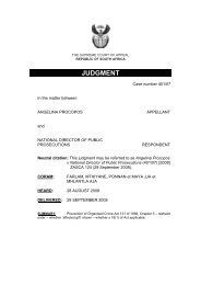 zasca 124 - Department of Justice and Constitutional Development