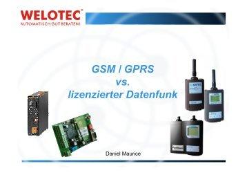 Zählerdatenfernauslesung via GSM und GPRS