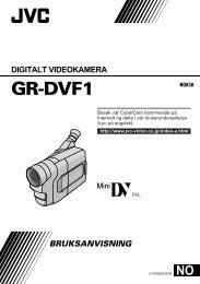 GR-DVF1 - Jvc.no