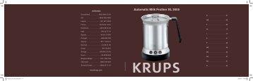 Brugervejledning KRUPS mælkeskummer XL2000 - Kaffekapslen