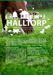Sammanställning Halltorp - Kalmar kommun