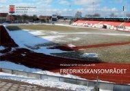 Program inför detaljplan Fredriksskansområdet - Kalmar kommun