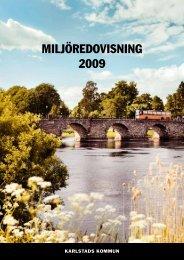 Miljöredovisning 2009, länk till pdf - Karlstads kommun