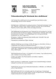 Förbundsordning för Värmlands läns vårdförbund - Karlstads kommun