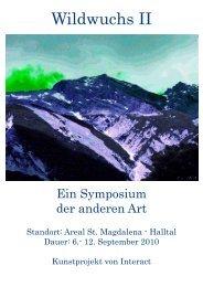 Programm - Alpenpark Karwendel