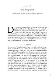 David Dunér Decimalsystemet. Historien bakom den första ryska