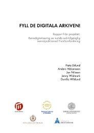 Fulltext - Kungliga biblioteket