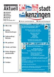 Ausgabe 49 2011 - Kenzingen