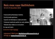 Reis mee naar Bethlehem - Kerk in Actie
