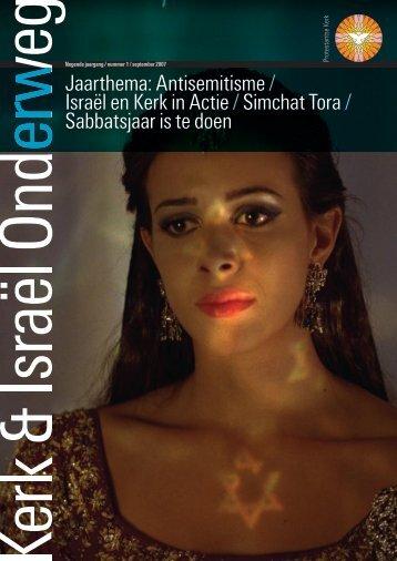 Jaarthema: Antisemitisme / Israël en Kerk in Actie / Simchat Tora ...