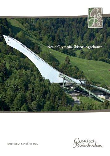 Neue Olympia-Skisprungschanze