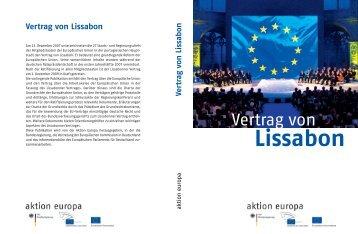 Vertrag von Lissabon - KGS Schneverdingen