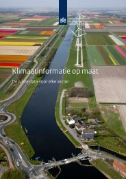 Klimaatinformatie op maat - Knmi